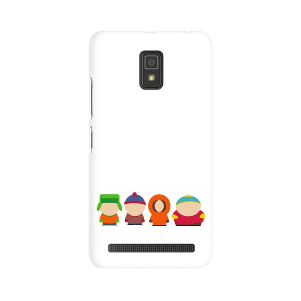 Lenovo A6600 South Park Minimal Phone Cover & Case