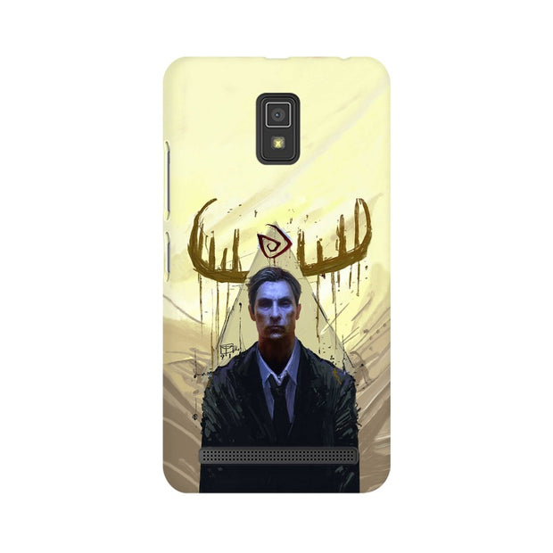 Lenovo A6600 True Detective Rustin Fan Art Phone Cover & Case