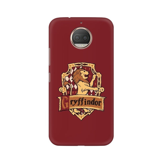 Moto E4 Plus Gryffindor House Crest Harry Potter Phone Cover & Case