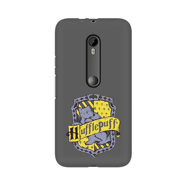 Moto G3 Hufflepuff House Crest Harry Potter Phone Cover & Case
