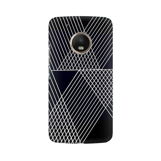 Moto G5 Plus Reflecting Lines Phone Cover & Case