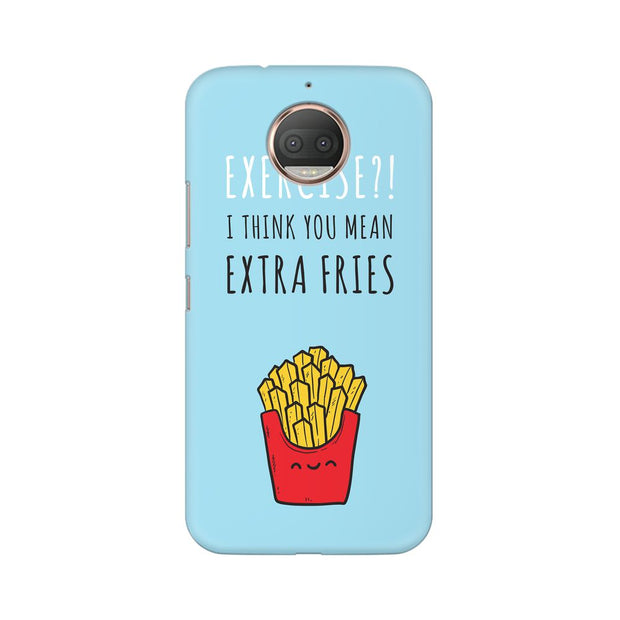 Moto G5s Extra Fries Phone Cover & Case