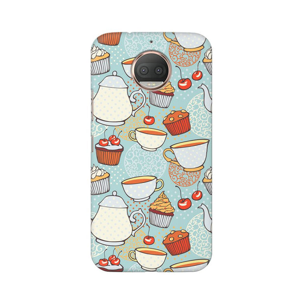 Moto G5s Cakes And Tea Phone Cover & Case