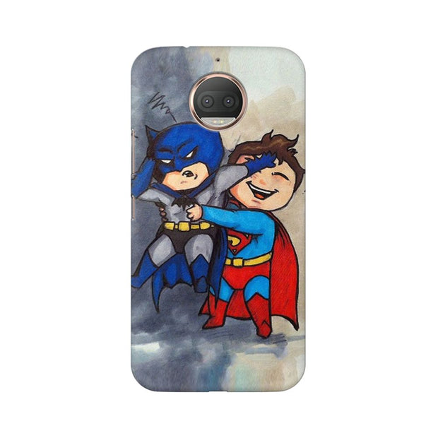 Moto G5s Batman And Superman Kids Phone Cover & Case