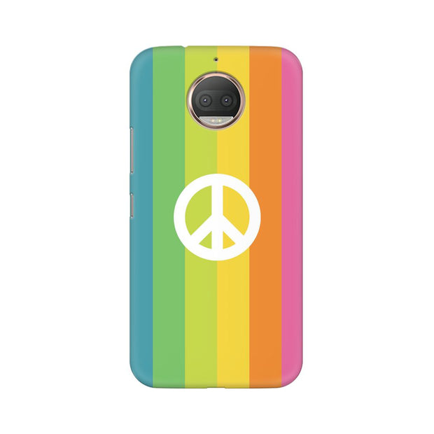 Moto G5s Colorful Peace Phone Cover & Case