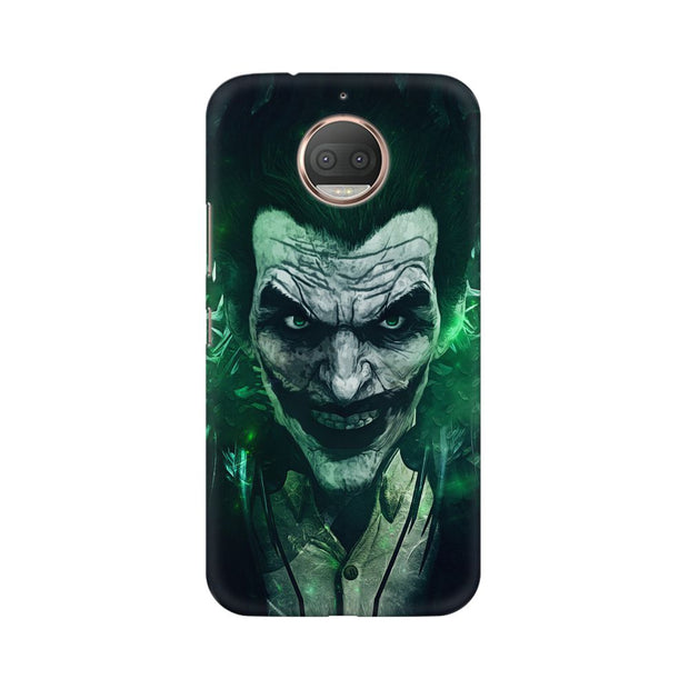 Moto G5s Joker Green Phone Cover & Case
