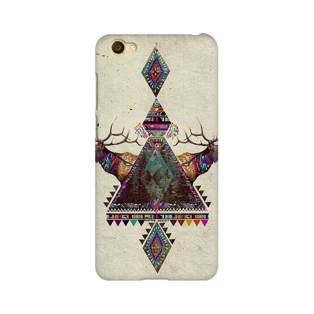 Vivo Y67 Deer Symmetry Phone Cover & Case