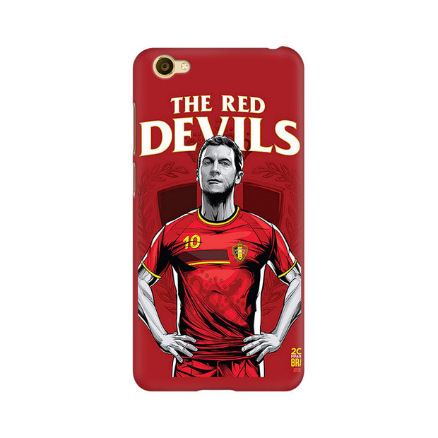 Vivo Y67 The Red Devils Phone Cover & Case