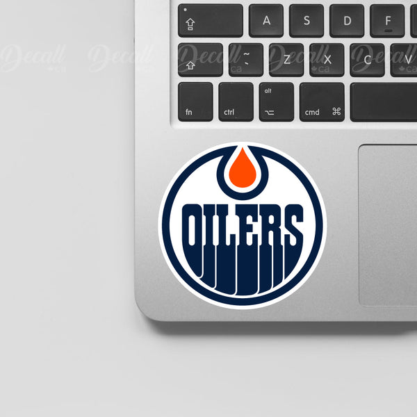 Ice Hockey Team Edmonton Oilers Logo Sport Stickers - Stickers - Decall.ca
