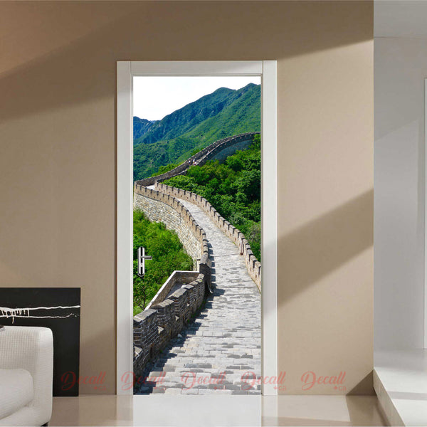 Great Wall Door Mural - Door-Murals - Decall.ca