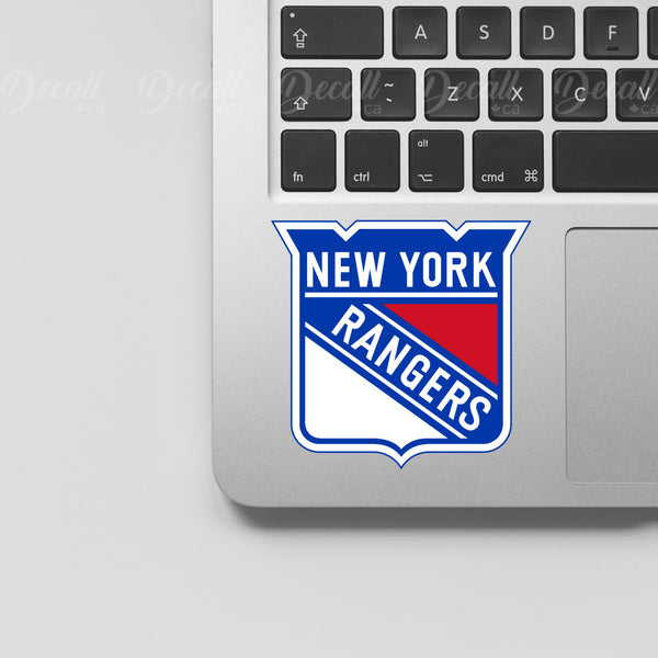 Ice Hockey Team New York Rangers Logo Sport Stickers - Stickers - Decall.ca