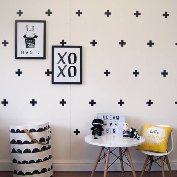 Removable Swiss Crosses Vinyl Wall Decals - Wall-Decals - Decall.ca