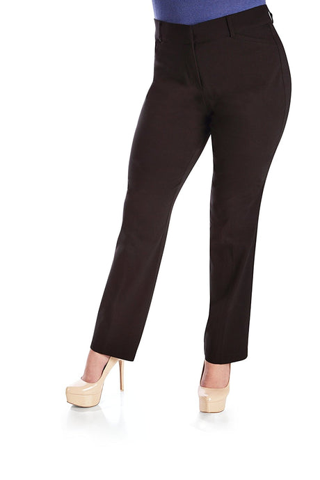 Pull On Comfort Slight Boot Cut Pant with Tummy Control