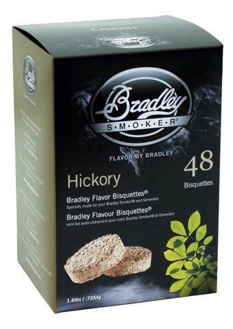 Bradley Smoker Bisquettes 48 Pack - Hickory