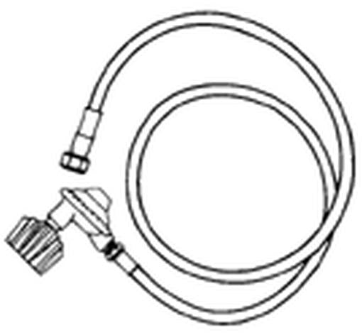 Music City Metals Lp Hose With Qcc-I Type One Regulator 80012