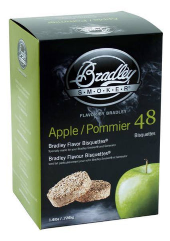 Bradley Smoker Bisquettes 48 Pack - Apple
