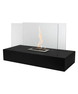 fire, fireplace, freestanding, bio-ethanol