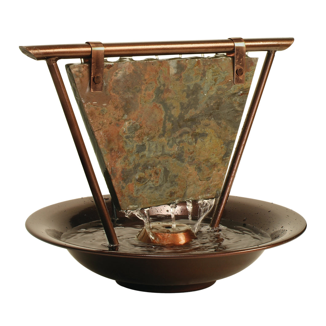 Haiku Moon Tabletop Fountain