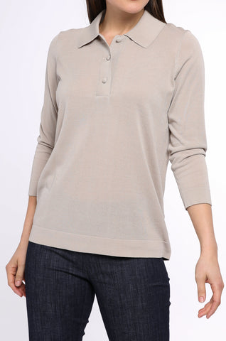 Polo Collar Sweater