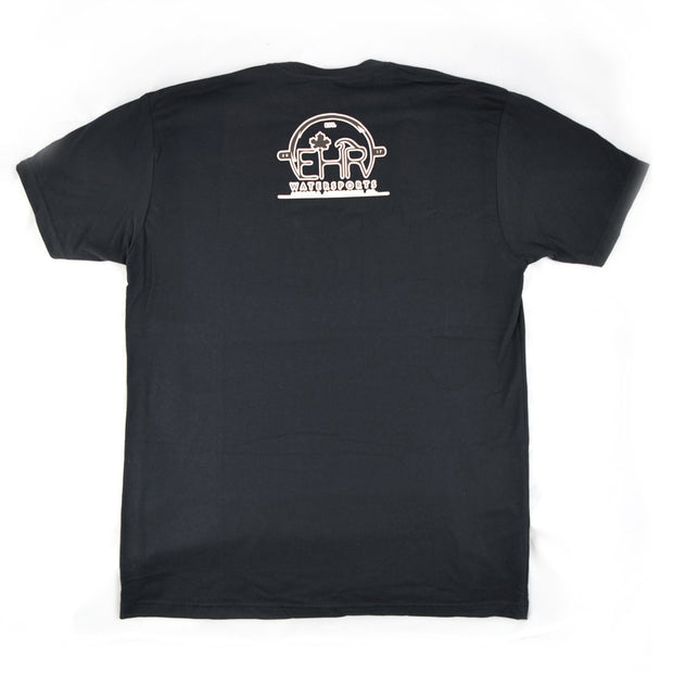 EHR Water Premium Mens Fitted Crew T-Shirt