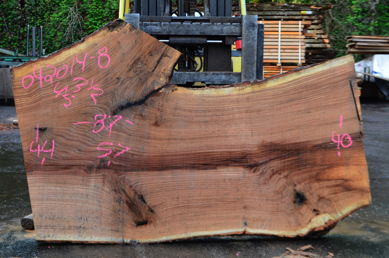 Oregon White Oak Slab 042014-08