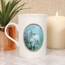 FOREST UNICORN MUG BY ANNE STOKES
