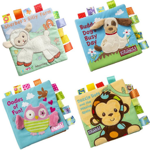 Baby early education book cloth book puzzle book three-dimensional cloth book - KiddyLanes