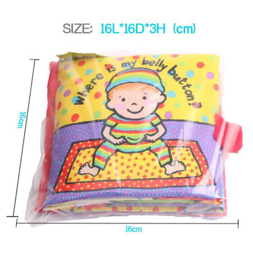 Baby early education book cloth books puzzle book three-dimensional book - KiddyLanes