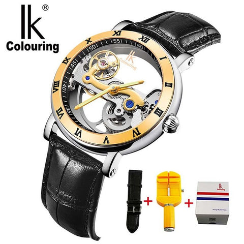 IK Men Automatic Mechanical Watches Top Brand Luxury