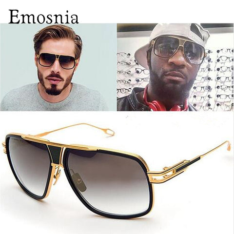 Emosi  - New Style Sunglasses Men Driving Oculos