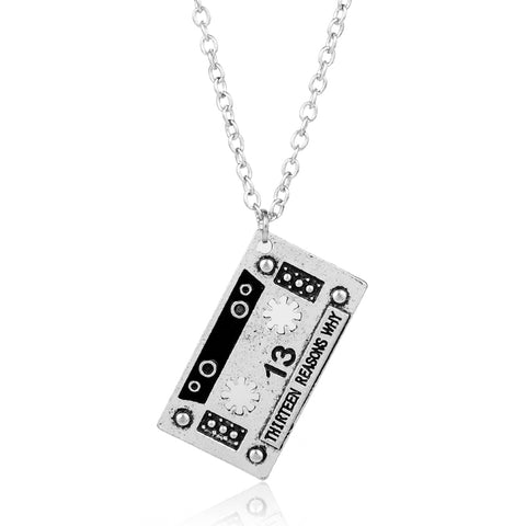 Thirteen Reasons Why Pendant Necklace