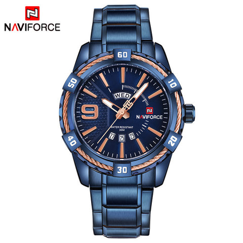 BESTBAY-  Waterproof Quartz Watch Men Military SportS