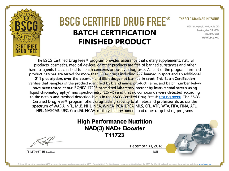NAD3® 60 • An All Natural NAD+ Booster™ (1 Month Supply)