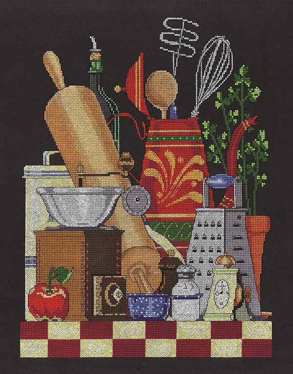 Kitchen Still Life Cross Stitch Kit by Janlynn