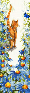 Follow Me 2 Cat Cross Stitch Kit By Bothy Threads