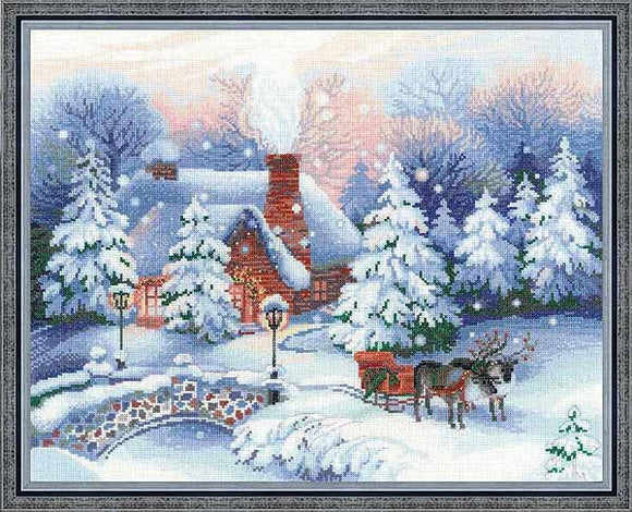 Christmas Eve Cross Stitch Kit By RIOLIS