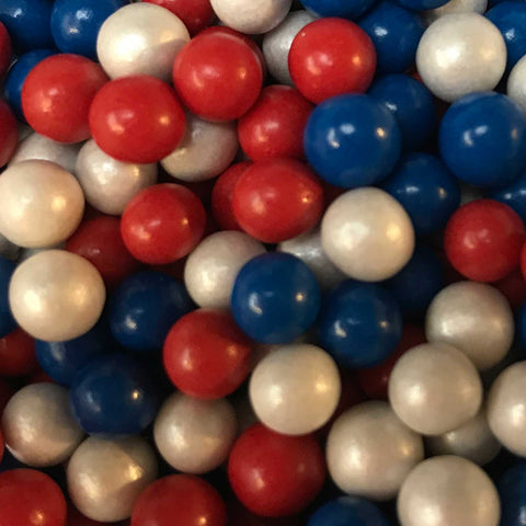 Chocoballs - Small - Red, White and Blue