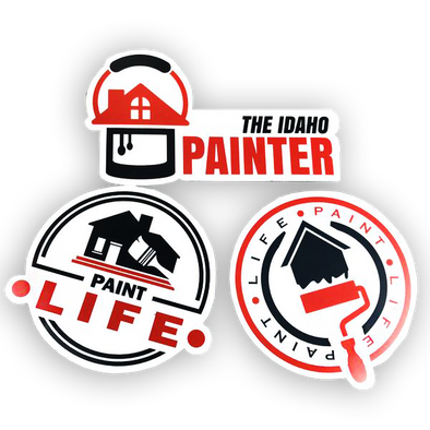 3-Pack of Paint Life Stickers