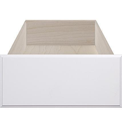 Replacement White RTF Slab Cabinet Drawer Front