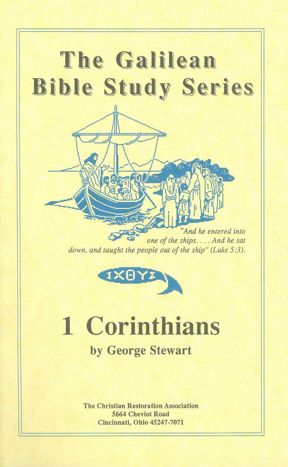 Galilean Bible Study Series - 1 Corinthians (Pupil Book) by George Stewart