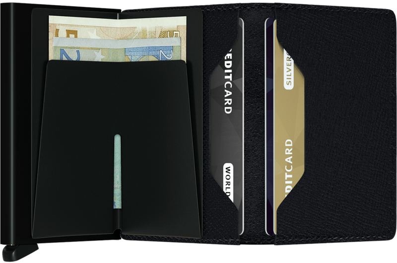 Secrid - Slim Wallet Crisple Black