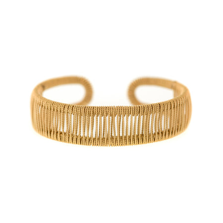 Raj Rock Twisted Wire Nest Ring