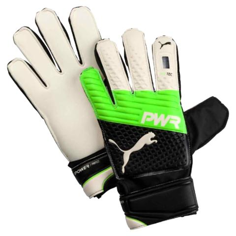 GOALKEEPER GLOVES PUMA EVOPOWER PROTECT 3.3 JUNIOR - GREEN GECKO/BLACK