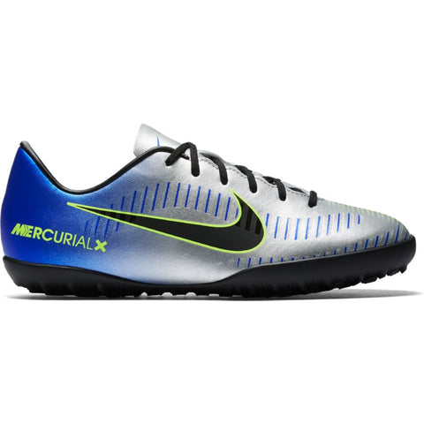 Kids' Neymar Jr. MercurialX Victory VI (TF) Artificial-Turf Football Boot