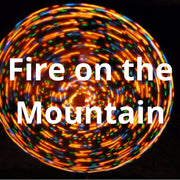 LED Mini Hoops - Fire on the Mountain