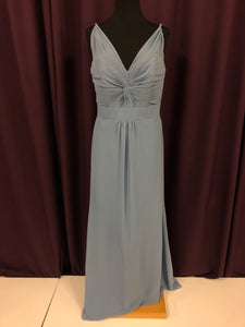 Alfred Angelo Size 12 Blue Formal Dress