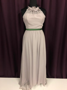 Alfred Angelo Size 12 Gray Sash NEW Formal Dress