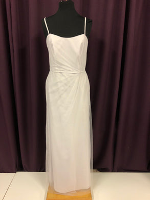 Alfred Angelo Size 12 Gray Tulle NEW Formal Dress