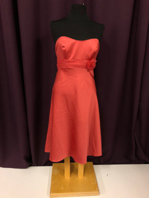 Alfred Angelo Size 12 Orange Formal Dress