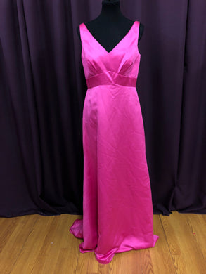 Alfred Angelo Size 12 Pink Long Formal Dress